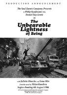 The Unbearable Lightness of Being - Teaser poster (xs thumbnail)