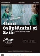 4 luni, 3 saptamini si 2 zile - Romanian Movie Poster (xs thumbnail)