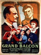 Au grand balcon - French Movie Poster (xs thumbnail)
