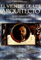 The Belly of an Architect - Spanish Movie Poster (xs thumbnail)