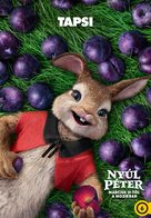 Peter Rabbit - Hungarian Movie Poster (xs thumbnail)