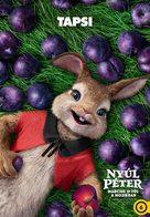 Peter Rabbit - Hungarian Movie Poster (xs thumbnail)