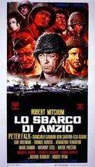 Lo Sbarco di Anzio - Italian Movie Poster (xs thumbnail)