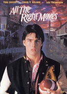 All the Right Moves - DVD movie cover (xs thumbnail)