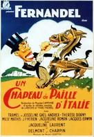 Un chapeau de paille d'Italie - French Movie Poster (xs thumbnail)