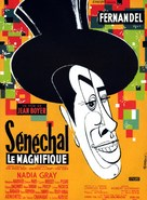 Sènèchal le magnifique - French Movie Poster (xs thumbnail)