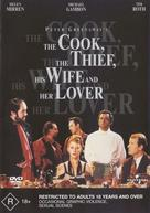 The Cook the Thief His Wife & Her Lover - Australian DVD movie cover (xs thumbnail)