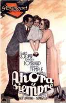 Now and Forever - Spanish Movie Poster (xs thumbnail)