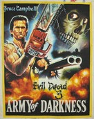 Army Of Darkness - Ghanian Movie Poster (xs thumbnail)