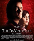 The Da Vinci Code - Swiss Movie Poster (xs thumbnail)