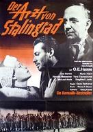 Der Arzt von Stalingrad - German Movie Poster (xs thumbnail)