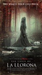 The Curse of La Llorona - Norwegian Movie Poster (xs thumbnail)