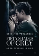 Fifty Shades of Grey - German Movie Poster (xs thumbnail)