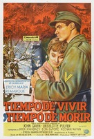 A Time to Love and a Time to Die - Argentinian Movie Poster (xs thumbnail)