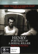 Henry: Portrait of a Serial Killer - Australian DVD cover (xs thumbnail)