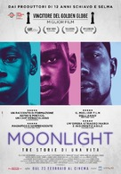 Moonlight - Italian Movie Poster (xs thumbnail)
