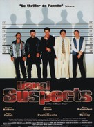 The Usual Suspects - French Movie Poster (xs thumbnail)