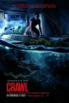 Crawl - Malaysian Movie Poster (xs thumbnail)