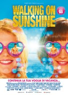 Walking on Sunshine - Italian Movie Poster (xs thumbnail)