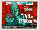 The Evil of Frankenstein - British Movie Poster (xs thumbnail)