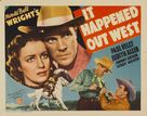 It Happened Out West - Movie Poster (xs thumbnail)