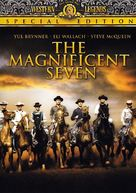 The Magnificent Seven - DVD cover (xs thumbnail)