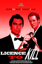 Licence To Kill - DVD cover (xs thumbnail)