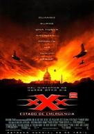 XXX 2 - Spanish Movie Poster (xs thumbnail)
