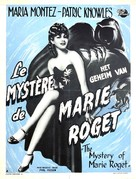 Mystery of Marie Roget - Belgian Movie Poster (xs thumbnail)