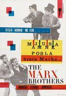 Monkey Business - Yugoslav Movie Poster (xs thumbnail)