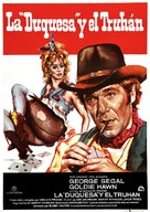 The Duchess and the Dirtwater Fox - Spanish Movie Poster (xs thumbnail)