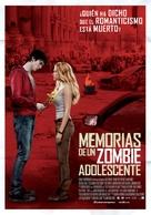 Warm Bodies - Spanish Movie Poster (xs thumbnail)