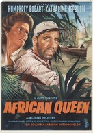 The African Queen - German Movie Poster (xs thumbnail)