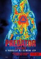 The Predator - Hungarian Movie Poster (xs thumbnail)