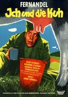 La vache et le prisonnier - German Movie Poster (xs thumbnail)