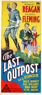 The Last Outpost - Australian Movie Poster (xs thumbnail)