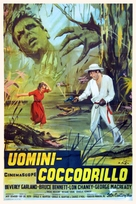 The Alligator People - Italian Movie Poster (xs thumbnail)