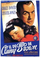 Cluny Brown - Spanish Movie Poster (xs thumbnail)