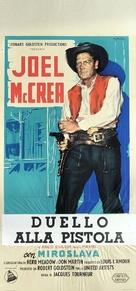 Stranger on Horseback - Italian Movie Poster (xs thumbnail)