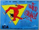 Wild Style - British Movie Poster (xs thumbnail)