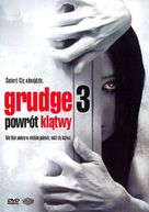 The Grudge 3 - Polish DVD cover (xs thumbnail)