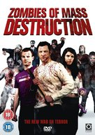 ZMD: Zombies of Mass Destruction - British DVD cover (xs thumbnail)