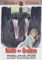 The Plague of the Zombies - German DVD cover (xs thumbnail)
