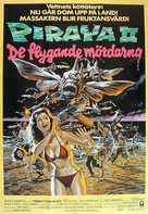 Piranha Part Two: The Spawning - Swedish Movie Poster (xs thumbnail)