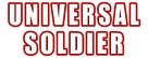 Universal Soldier - Logo (xs thumbnail)