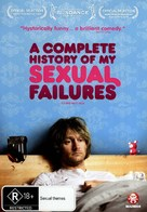 A Complete History of My Sexual Failures - Australian DVD cover (xs thumbnail)