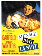 He Ran All the Way - French Movie Poster (xs thumbnail)