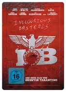 Inglourious Basterds - German DVD cover (xs thumbnail)