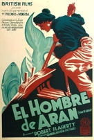 Man of Aran - Argentinian Movie Poster (xs thumbnail)