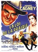 Tribute to a Bad Man - French Movie Poster (xs thumbnail)